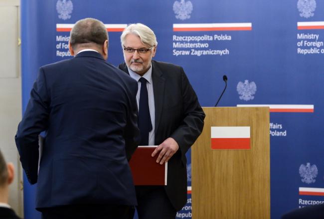 Witold Waszczykowski. Photo: PAP/Jakub Kamiński