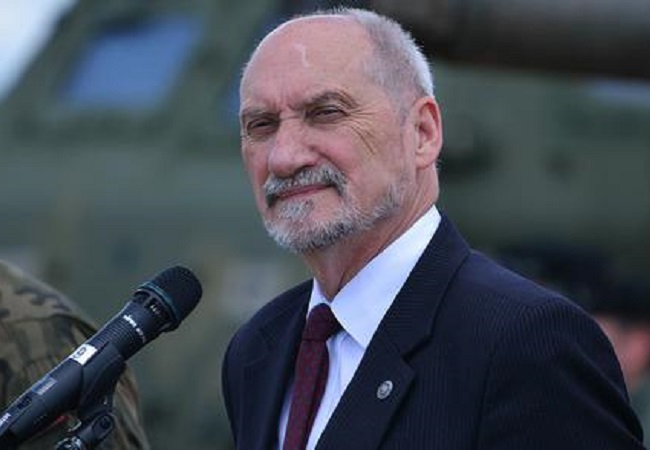 Minister Antoni Macierewicz. Photo: mon.gov.pl