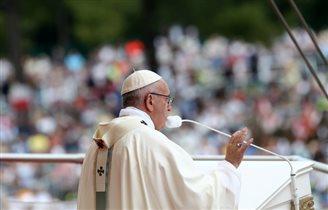 Папа Францішак зьдзівіў усіх словамі й паводзінамі