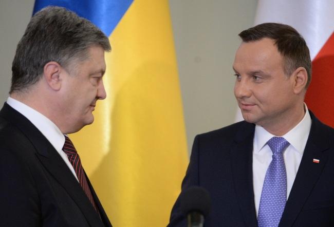 Petro Poroshenko and Andrzej Duda. Photo: PAP/Jacek Turczyk