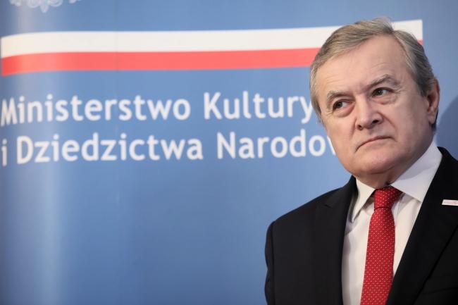 Министр культуры и национального наследия Польши Петр Глиньский
