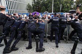 Рэформу правасудзьдзя ў Польшчы суправаджаюць пратэсты