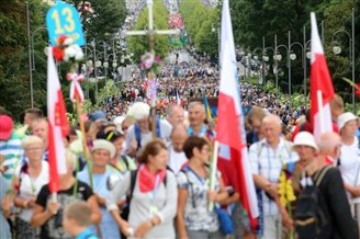 Polish Catholics mark Feast of Assumption