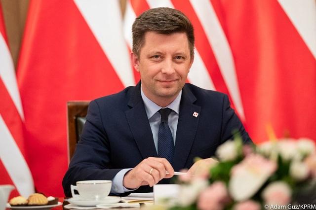 Глава канцелярии премьер-министра Польши Михал Дворчик