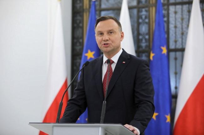 President Andrzej Duda. Photo: PAP/Leszek Szymański