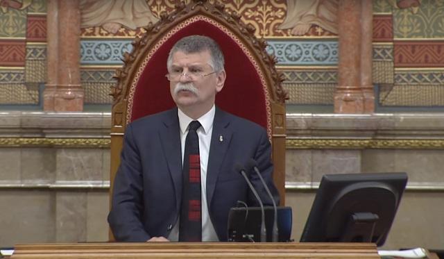 Спикер Национального собрания Венгрии Ласло Кёвер