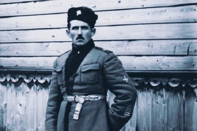 Станіслаў Булак-Балаховіч на службе ў эстонскай арміі. 1919 г.