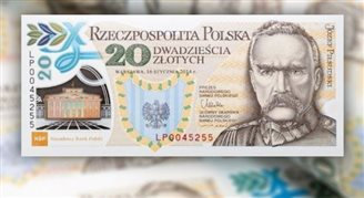 Piłsudski banknote voted best in world