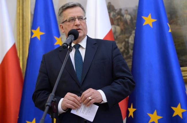 President Bronislaw Komorowski. Photo: PAP/Jacek Turczyk
