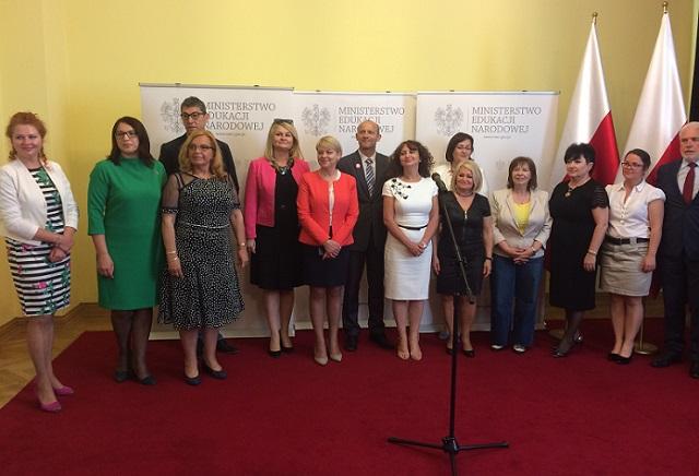 Uczestnicy Rady Oświaty Polonijnej
