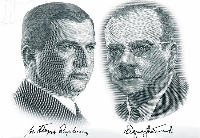 Henryk Floyar-Rajchman and Ignacy Matuszewski. Photo: Twitter.com/Ministerstwo Obrony.