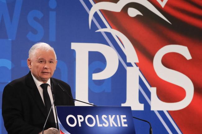 Law and Justice (PiS) leader Jarosław Kaczyński. Photo: PAP/Krzysztof Świderski