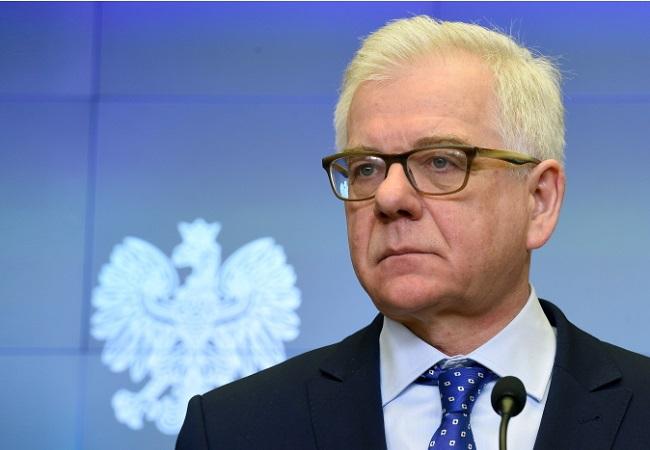 Jacek Czaputowicz. Photo: PAP/Radek Pietruszka.