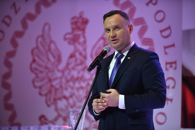 Poland's President Andrzej Duda. Photo: PAP/Bartłomiej Zborowski