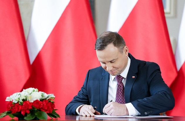 Президент Польши Анджей Дуда подписл закон о бюджете на 2019 год