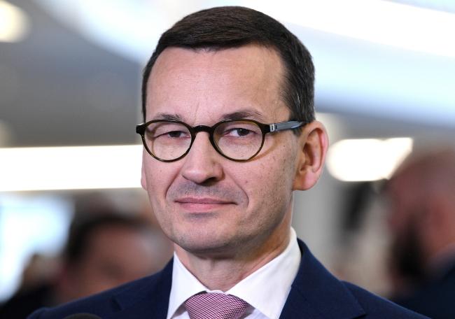 PM Mateusz Morawiecki. Photo: PAP/Darek Delmanowicz