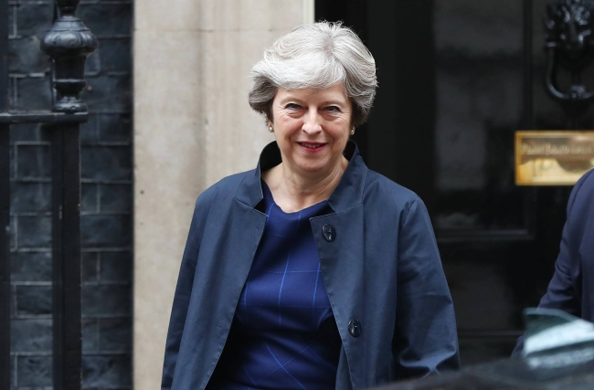Theresa May. Photo: EPA/NEIL HALL.