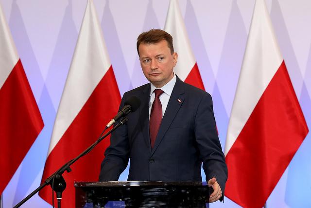 Polish Interior Minister Mariusz Błaszczak. Photo: Flickr.com/MSWiA (CC BY-ND 2.0)