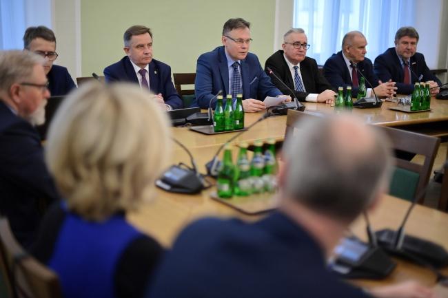Засідання сеймової групи в справах репарацій, 29 січня 2019 року