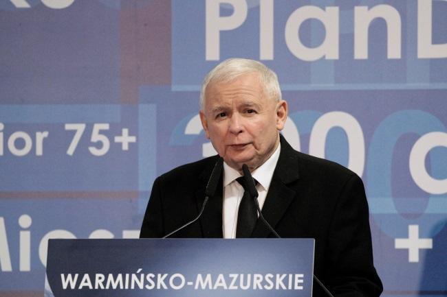 Jarosław Kaczyński. Photo: PAP/Tomasz Waszczuk
