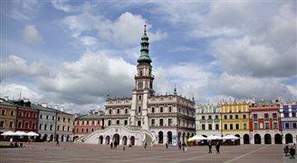Идеальный город Замосьць