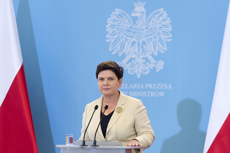 Prime Minister Beata Szydło. Photo: premier.gov.pl