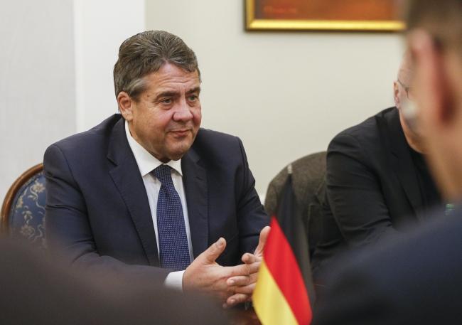 Глава МИД Германии Зигмар Габриэль.