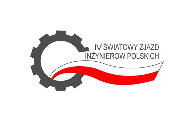 Логотип  IV Всемирного съездф польских инженеров