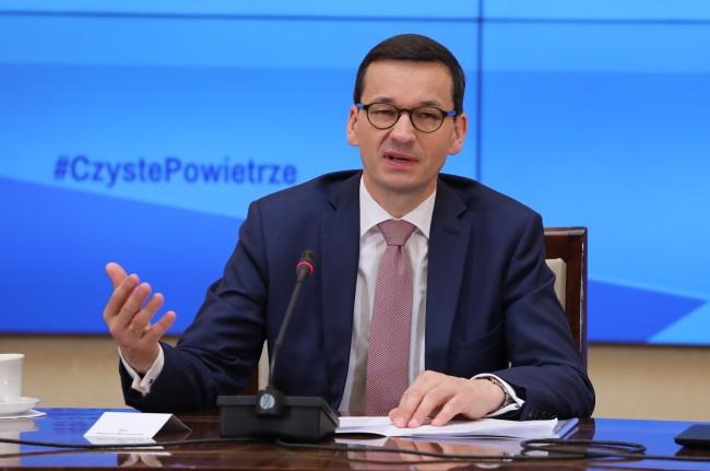 Polish Prime Minister Mateusz Morawiecki. Photo: PAP/Tomasz Gzell