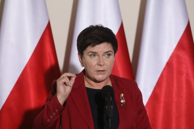 Polish Prime Minister Beata Szydło. Photo: PAP/Paweł Supernak