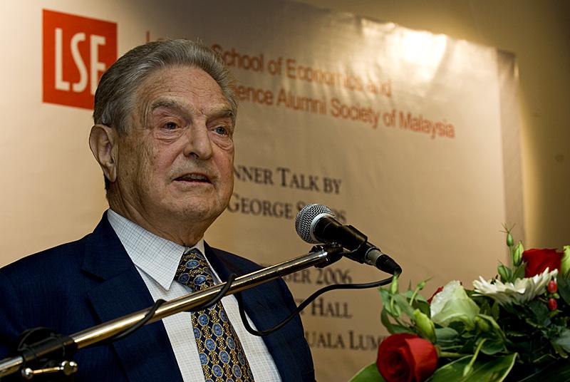 George Soros/Wikipedia