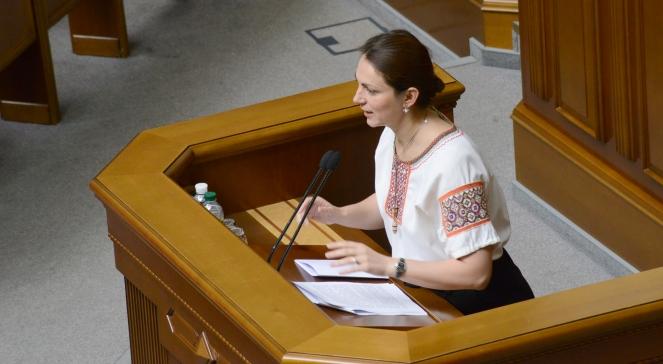 Депутат Верховної ради України Ганна Гопко