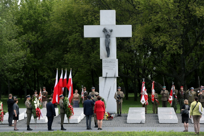 Monument to the Victims of the Volhynia Massacre in Warsaw. Photo: PAP/Tomasz Gzell