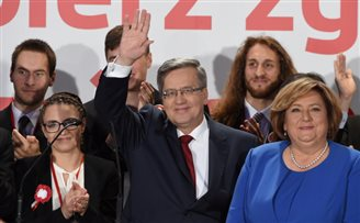 Komorowski: 'Good luck to Duda'