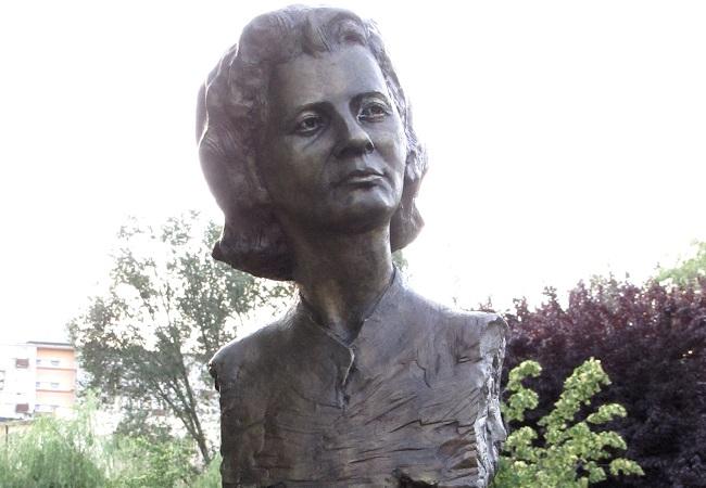 Bust of Grażyna Bacewicz. Photo: Wikimedia Commons/Paweł Cieśla Staszek Szybki Jest.