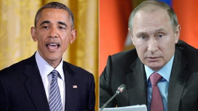 Президент США Барак Обама и президент РФ Владимир Путин.