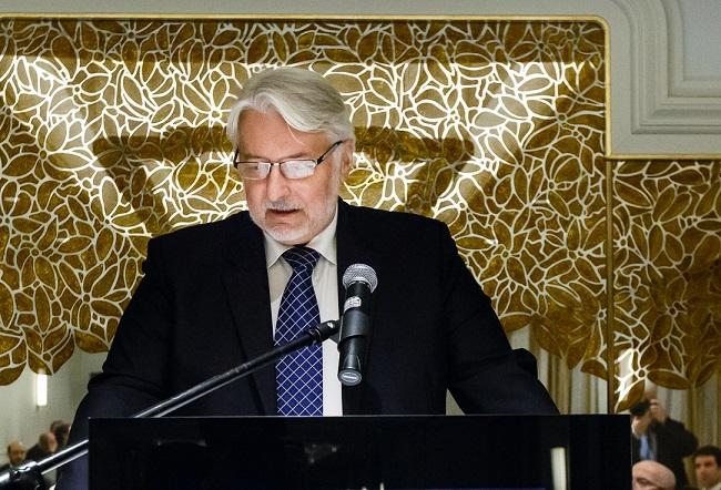 Foreign Minister Witold Waszczykowski. Photo: Flickr.com/Ministerstwo Spraw Zagranicznych RP