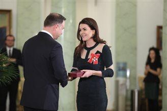 Agnieszka Radwańska uhonorowana przez prezydenta