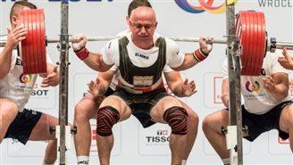 Польский спортсмен - чемпион The World Games во Вроцлаве по пауэрлифтингу