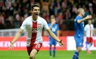 Polish winger Kapustka makes Leicester debut