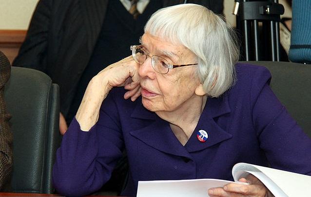 Российский историк и правозащитница Людмила Алексеева