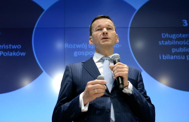 Wicepremier Mateusz Morawiecki. Foto: PAP/Jacek Turczyk