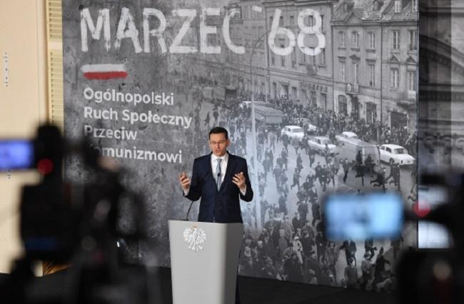 Mateusz Morawiecki. Photo: PAP/Radek Pietruszka