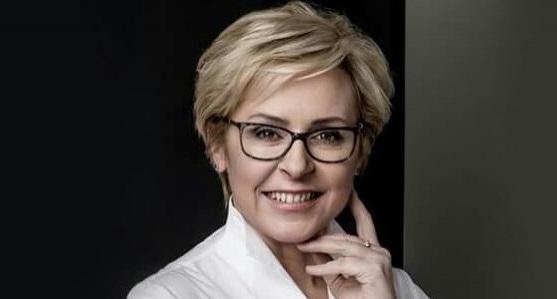 Die Europaabgeordnete der in Polen regierenden Partei Recht und Gerechtigkeit (PiS), Jadwiga Wiśniewska