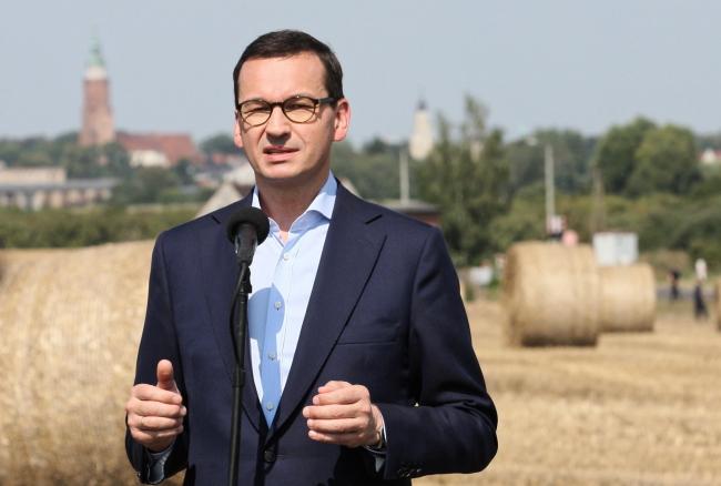PM Mateusz Morawiecki. Photo: PAP/Lech Muszyński