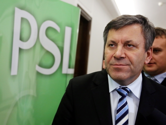 Janusz Piechociński. Photo: PAP/EPA/Tomasz Gzell