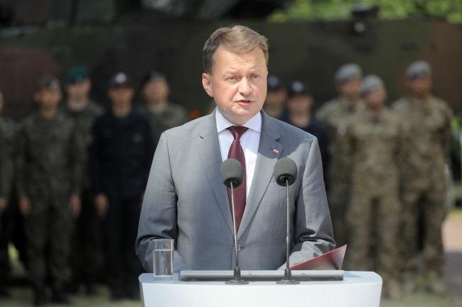 Polish Defence Minister Mariusz Błaszczak. Photo: PAP/Paweł Supernak