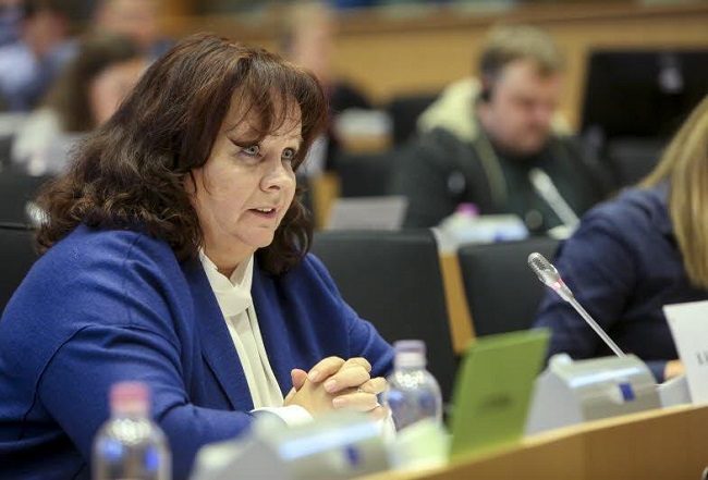 Barbara Kudrycka, a Civic Platform MEP and member of the European People's Party grouping. Photo: European Union 2017. Source: EP/Alexis Haulot