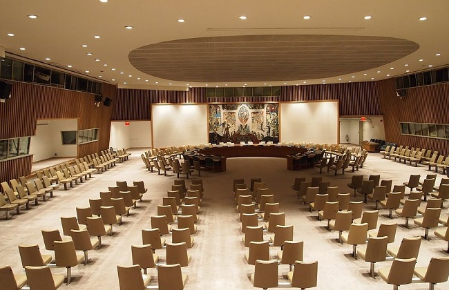The UN Security Council chamber in New York. Photo: Lowlova/Wikimedia Commons