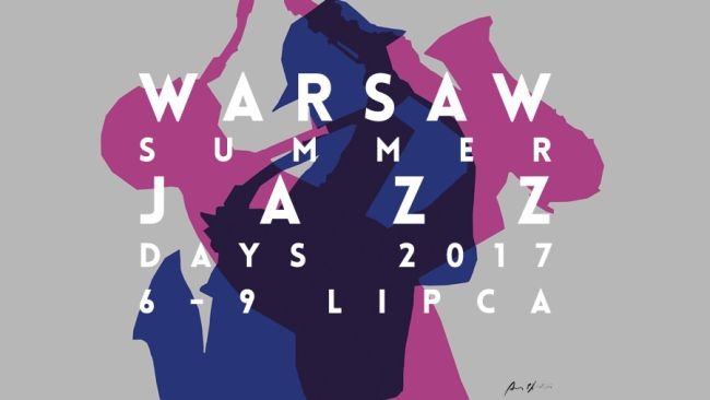 Афиша фестиваля Warsaw Summer Jazz Days 2017.